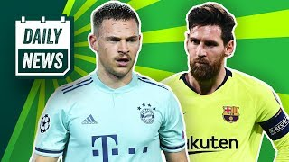 Nullnummern Bei Bayern Und Barcelona! BVB Transfer News! Inter: Stress Um Icardi-Transfer!