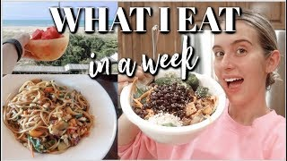 what i eat in a week as a college student (vegan)