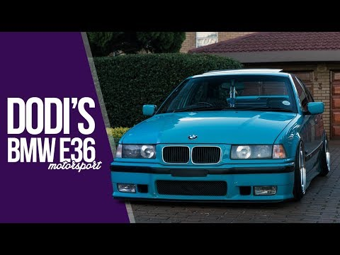 Dodi's BMW E36 318i Motorsport - Modena wheels | Violent Clique | Bagged (4K)
