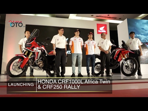 Launching Honda CRF1000L Africa Twin & CRF250 Rally