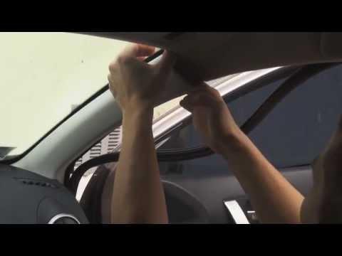 Nissan Qashqai Как снять обшивку потолка!