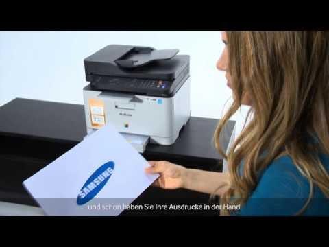 Samsung Farblaser-Multifunktionsdrucker CLX3305FW - Tutorial