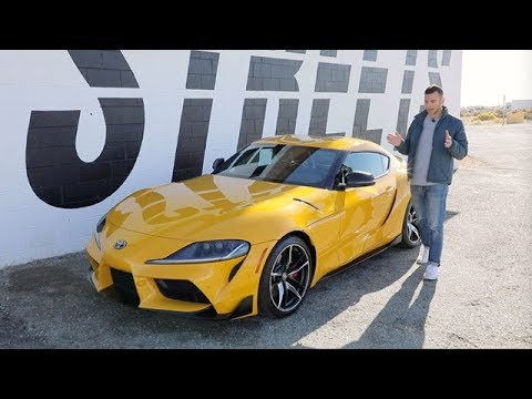 2020 Toyota Supra Test Drive Review