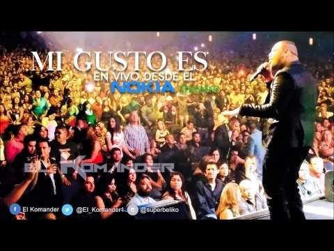 El Komander - Mi Gusto Es (En Vivo Nokia Theatre) 2014