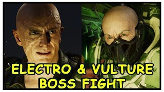 Spider-Man PS4: Vulture & Electro Boss Fight
