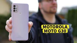 Motorola Moto G30 - Kann uns ein 180 Euro Smartphone überzeugen? | Instant Review (deutsch)