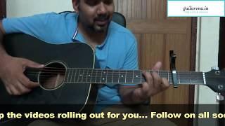 Chota Sa Fasana  Arijit Singh | Guitar Lesson  Guitarena Music