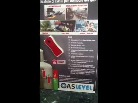 Gas level indicatore di livello per bombole