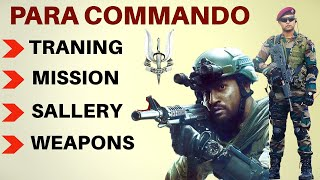 Para Commandos - Traning / Oprations / Sallery | para sf - special forces(  indian army )