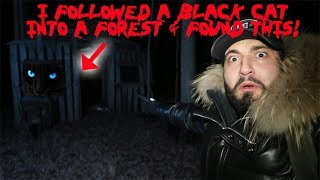 HAUNTED WITCH FOREST AT 3AM! WE FOUND A BLACK PANTHER! | MOE SARGI