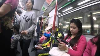 2016-03-06 On The Tube 2 (Timelapse), Hong Kong