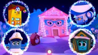 Домики -  ТОП Февраль - мультик для детей
