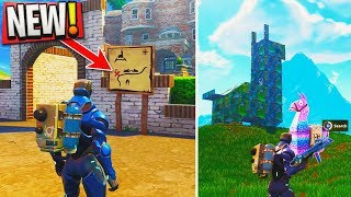 i found a location to track LOOT LLAMAS EVERY GAME in Fortnite.. (BIGGEST SEASON 4 SECRET REVEALED)