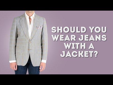 Should You Wear Denim Jeans With A Suit Jacket Or Blazer?