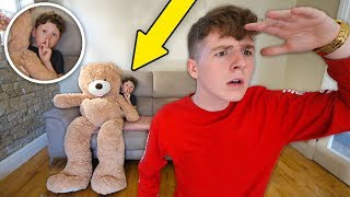 EXTREME Prop Hunt IRL Challenge with LITTLE BROTHER!!