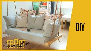 Indoor HOLLYWOODSCHAUKEL einfach selber machen | Swing Chair | Porch Swing | DIY