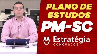 Concurso PM SC: Plano de Estudos - Prof. Luis Eduardo