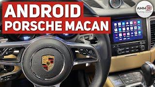 Установка Android на Porsche Macan
