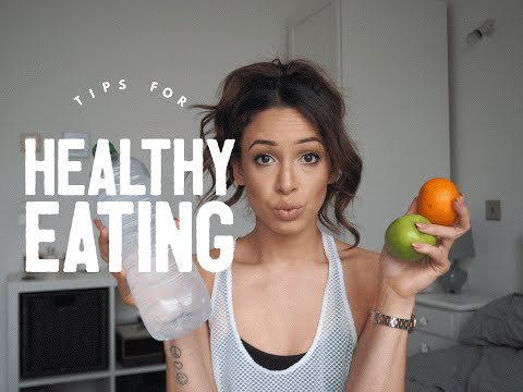 Video EASY WAYS TO STAY HEALTHY | Danielle Peazer