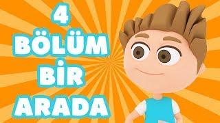 Kukuli – En Eğlenceli Çizgi Filmler | Eğitici Çocuk Şarkıları & Komik Maceralar | 4 Bölüm Bir Arada