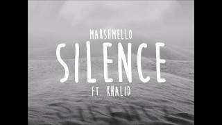 Marshmello   Silence(lyrics) Ft. Khalid