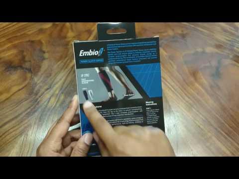 Bandage.de   Unboxing Wadenbandage LP Support   LP 270Z Embioz Power Sleeve