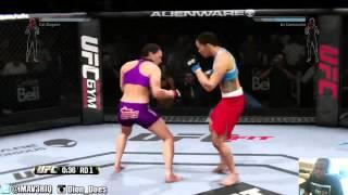 UFC Woman Fights - UFC Women Knockouts - Cat Zingano vs Liz Carmouche - UFC Women Fights 2014