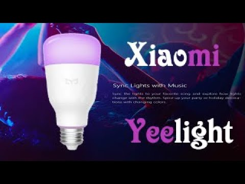 Xiaomi Yeelight YLDP05YL E27 10W Dimmable Smart LED Bulb Wifi App Control AC100 240V