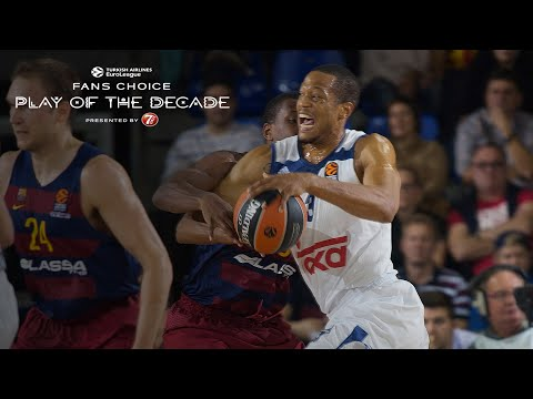 Round 4 winner, Fans Choice Play of the Decade: Anthony Randolph