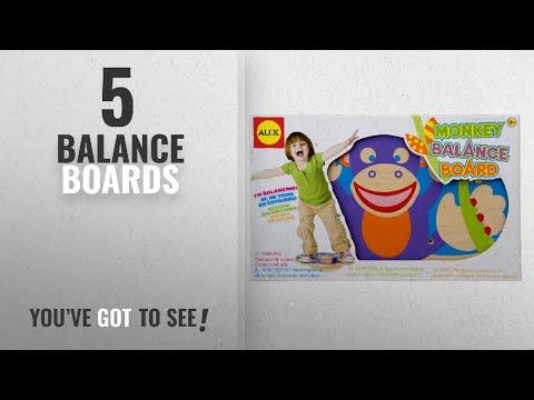 Top 10 Balance Boards [2018]: Alex Toys Active Play Monkey Balance Board