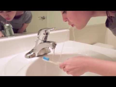 The Rinser Toothbrush Has A Built-In Water Fountain For Easy Rinsing
