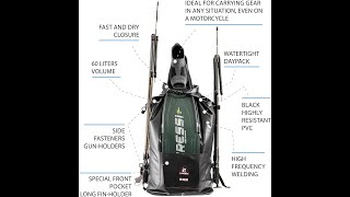 UNBOXING spearfishing bag!!