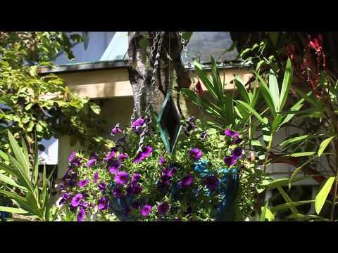 Baumspiegel, rautenförmiger Facettenspiegel - www.glaskunststudio.com