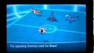 Pokemon X Y Triple Battle - 1st Turn Sturdy Shedinja