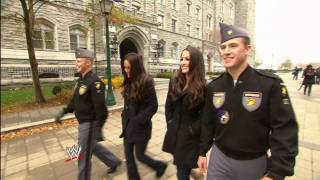 """""""WWE Presents"""" - The Bellas tour West Point"""