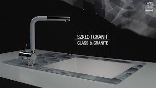 Capella zlewozmywak szklano granitowy DEANTE