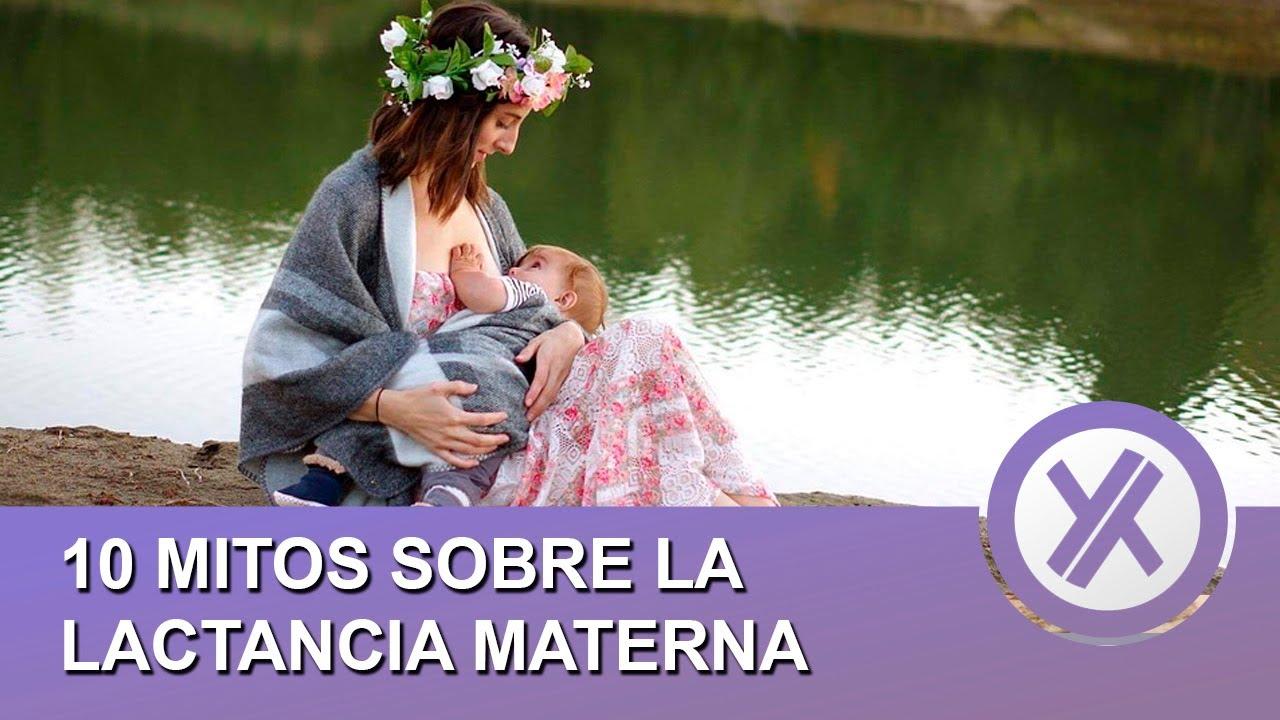 10 mitos sobre la lactancia materna