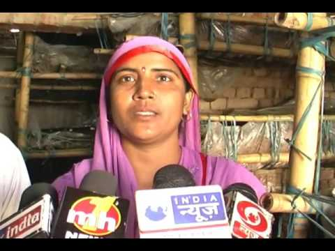 Ashok Kumar's Wife and Son sharing information with media about Mushroom Crop