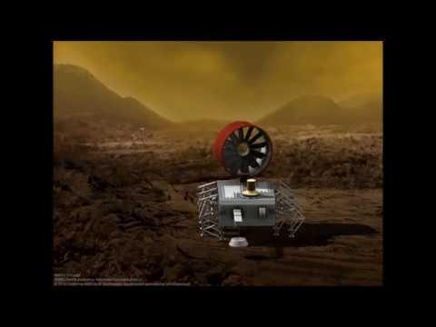 JPL's Design for a Clockwork Rover to Explore Venus