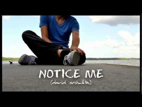 Notice Me - David Archuleta