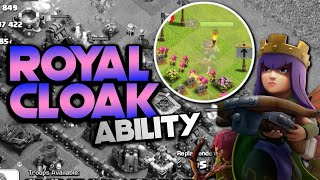 ROYAL CLOAK ABILITY!  TH9 Let's Play | Clash of Clans