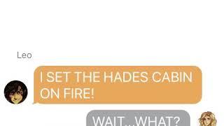 Percy Jackson Texting Story
