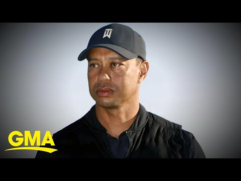 Tiger Woods breaks silence after crash l GMA