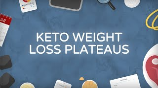 The Ketogenic Diet and Weight Loss Plateaus