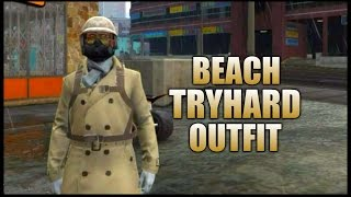 GTA 5 Online BEACH TRYHARD OUTFIT TUTORIAL