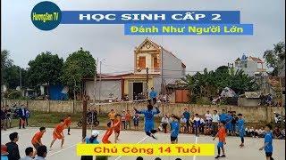 Bóng chuyền học sinh cấp 2 -Huyện Thạch Thành | Thạch Sơn vs Thạch Đồng