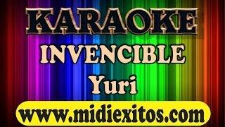 INVENCIBLE - YURI - KARAOKE