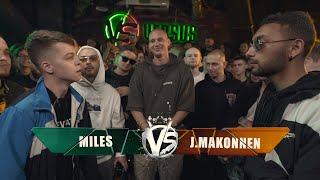 VERSUS: FRESH BLOOD 4 (Miles VS J.Makonnen) Этап 2