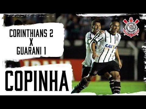 Copinha | Corinthians 2x1 Guarani