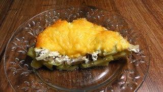 Вкусные Рецепты: Картофельная запеканка с грибами